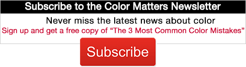Subscribe to the Color Matters Newsletter